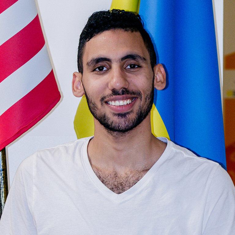 Abdulla Shokry Diab. Arabic and English languages teacher